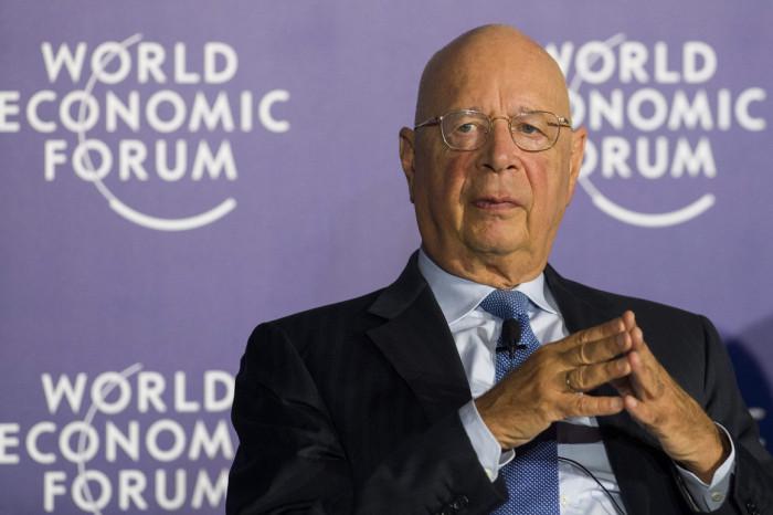 Klaus Schwab of the WEF